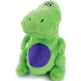 Quaker Pet Group Green Godog Just For Me T-rex Dog Toy