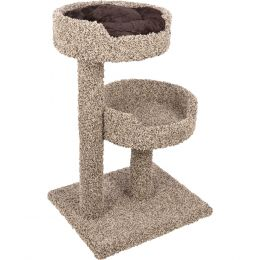 Ware Natural 2 Story Perch With Donut Bed 24wx30dx36h
