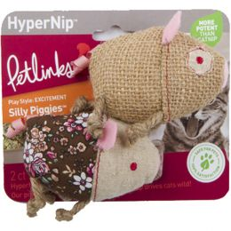 Worldwise Silly Piggies With Hypernip Cat Toy 2 Ct