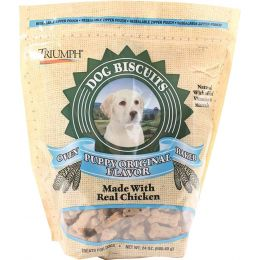 Triumph Original All Natural Puppy Biscuits 24 Oz