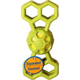 JW Assorted Hol-ee Bone W/squeaker Small