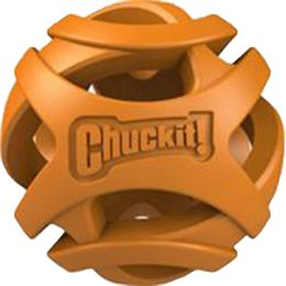 Canine Hardware Orange Chuckit! Breathe Right Fetch Ball 2 Pack