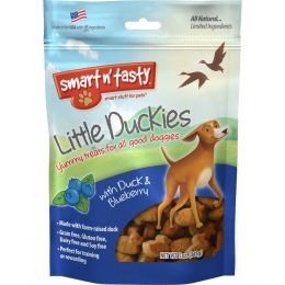 Emerald Pet Blueberry/duck Emerald Pet Little Duckies Dog Treats 5 Oz