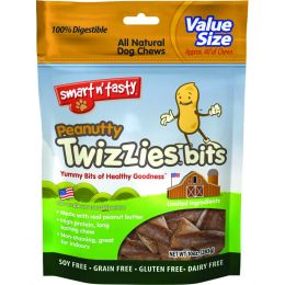 Emerald Pet Peanut Emerald Pet Peanutty Twizzies Bits 10 Oz