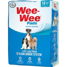 Four Paws Wee Wee Pads For Puppies 14 Pk