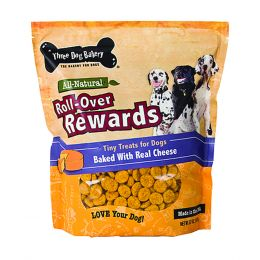 Three Dog Bakery Cheese Roll-over Rewards Tiny Treats For Dogs 32 Oz