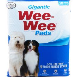 Four Paws Wee Wee Pads Gigantic 18 Pk