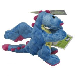 Quaker Pet Group Periwinkle Dragons Dog Toy Small