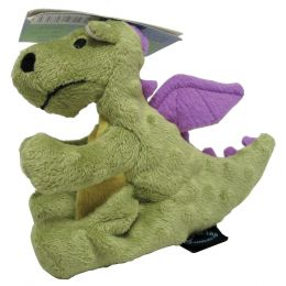 Quaker Pet Group Lime Dragons Dog Toy Small