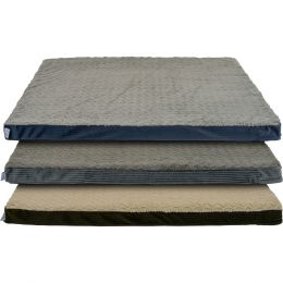 Dallas Assorted Cozy Pet Orthopedic Foam Rectangle Bed 34in X 42in