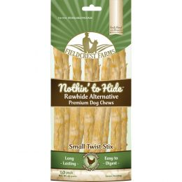 Fieldcrest Farms Chicken Nothin To Hide Rawhide Alternative Small Twist St 10pk