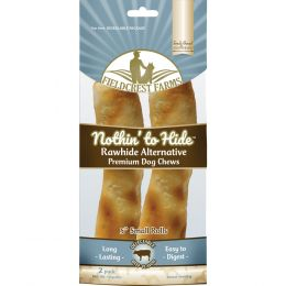 Fieldcrest Farms Beef Nothin To Hide Rawhide Alternative Small Roll 5 In/2 Pack