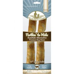 Fieldcrest Farms Beef Nothin To Hide Rawhide Alternative Large Roll 10 In/2 Pack