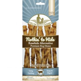 Fieldcrest Farms Beef Nothin To Hide Rawhide Alternative Small Twist St 10pk