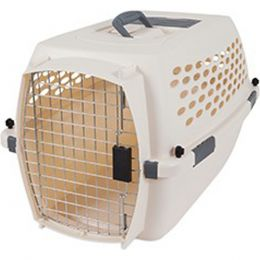 Petmate Bleached Linen Vari Kennel Pet Carrier 10-20 Lb