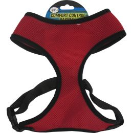 Four Paws Red Comfort Control Dog Harness Small
