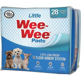 Four Paws Wee Wee Pads For Little Dogs 28 Pk