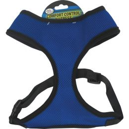 Four Paws Blue Comfort Control Dog Harness Medium