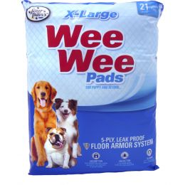 Four Paws Wee Wee Pads Xlarge/21 Pk