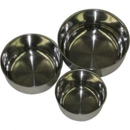 A&E Cage Multi-colored A & E Stainless Steel Bowl 5 In