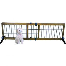 Carlson Pet Brown Freestanding/pressure Mount Wooden Pet Gate 40-70wx20h In