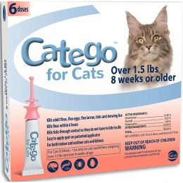 H&C Animal Health Catego For Cats Over 1.5 Lbs Over 1.5lb 6 P
