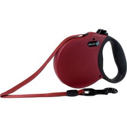 Paws/alcott Red Alcott Retractable Leash Up To 45 Pounds Small/16 Ft
