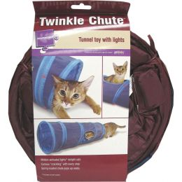 Worldwise Assorted Twinkle Chute Lighted Tunnel Cat Toy
