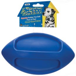 JW Assorted Isqueak Funble Football Large
