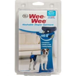 Four Paws Wee Wee Washable Diaper Garment Small