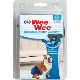 Four Paws Wee Wee Washable Diaper Garment Large