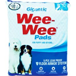 Four Paws Wee Wee Pads Gigantic 8 Pk