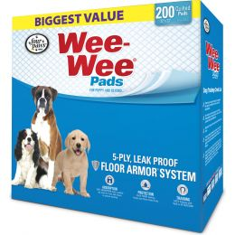 Four Paws Wee Wee Pads For Puppies 200 Pk
