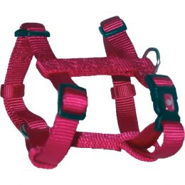 Hamilton Raspberry Adjustable Dog Harness Extra Small