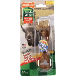 Tfh Publications/nylabone Bison Healthy Edibles Wild Chew Treat Large