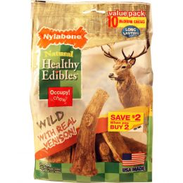 Tfh Publications/nylabone Venison Healthy Edibles Edible Antler Medium/10 Ct