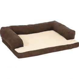 Petmate Assorted Bolstered Ortho Bed 40x30 In