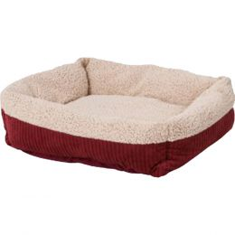 Petmate Spice/creme Aspen Pet Self Warming Pet Bed 35 X 27 In