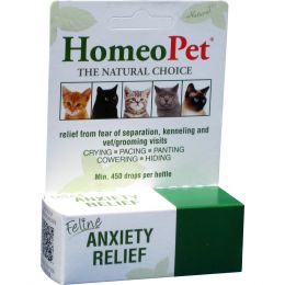 Homeopet Anxiety Relief Feline 15 Milliliter