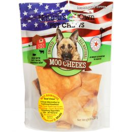 Best Buy Bones Natures Own Smoked Moo Cheeks Dog Chew 8 Oz