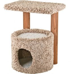 Ware Natural Kitty Condo With Perch 20.5 Inch