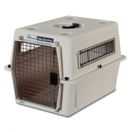 Petmate Bleached Linen Ultra Vari Kennel 21 In/small