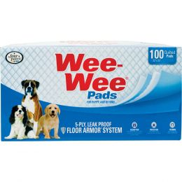 Four Paws Wee Wee Pads For Puppies 100 Ct