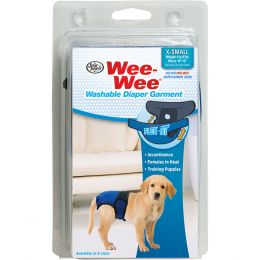 Four Paws Wee Wee Washable Diaper Garment Extra Small