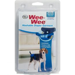 Four Paws Wee Wee Washable Diaper Garment Medium