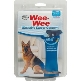 Four Paws Wee Wee Washable Diaper Garment Extra Large