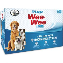 Four Paws Wee Wee Pads Xlarge/75 Pk