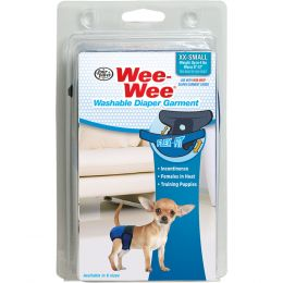 Four Paws Wee Wee Washable Diaper Garment Xx-small