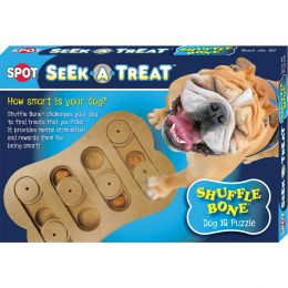 Ethical Brown Seek-a-treat Shuffle Bone 12 In