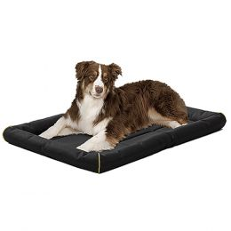 Midwest Container Black Quiet Time Maxx Ultra-rugged Pet Bed 48x31 In